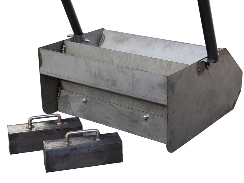 Jeu de poids boîte d'épandage à mortier
