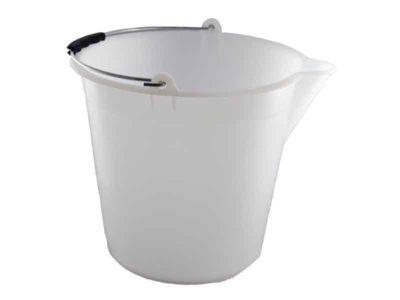 Seau plastique 17 litres gradué avec bec verseur HDPE