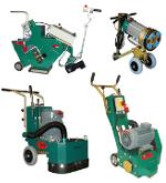 Equipement lourd pour préparation des sols : ponceuses, grenailleuses, décolleuses