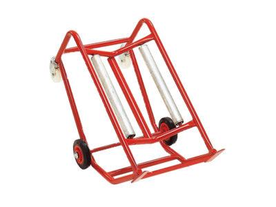 Barrel tip support (rollers)