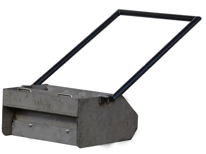 Boîte d'épandage à mortier